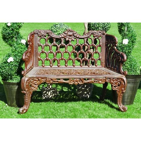 wrought iron bench uk iron garden benches black country metal works