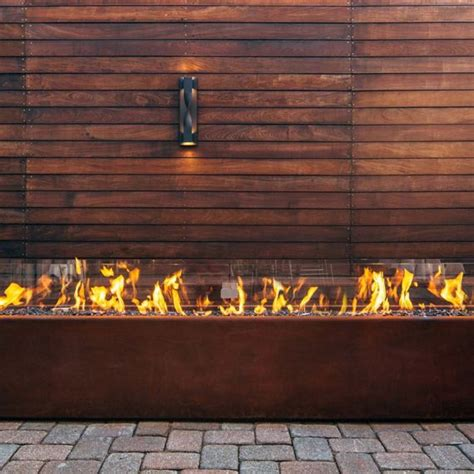 Custom Komodo 144 Corten Fire Pit Paloform Corten Steel Pit