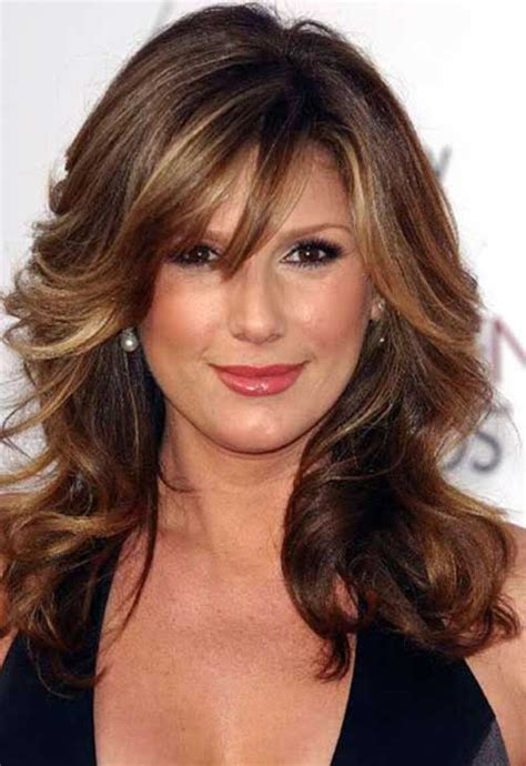 hairstyles with bangs over 40 30 hairstyles women over 40 long hairstyles 2016 2017
