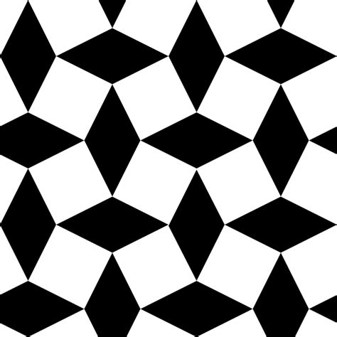 shape pattern video black pattern white diamond special shape public