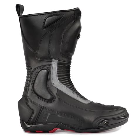 waterproof biker boots spyke road runner wp waterproof motorcycle boots touring