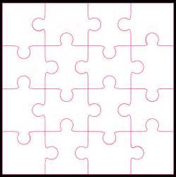 16 piece jigsaw cut file amp template