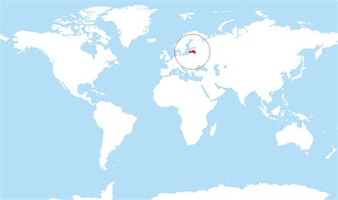 latvia on the world map where is latvia located on the world map