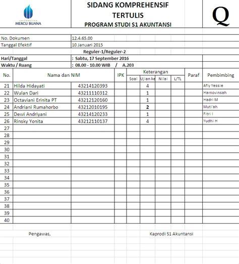 format skripsi mercubuana akuntansi s1 umb fakultas ekonomi dan bisnis