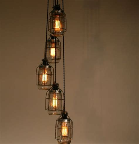 How To Wire A Jar Chandelier Turning Jars Into Light Fixtures