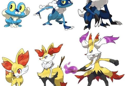 x and y mega evolution all starters