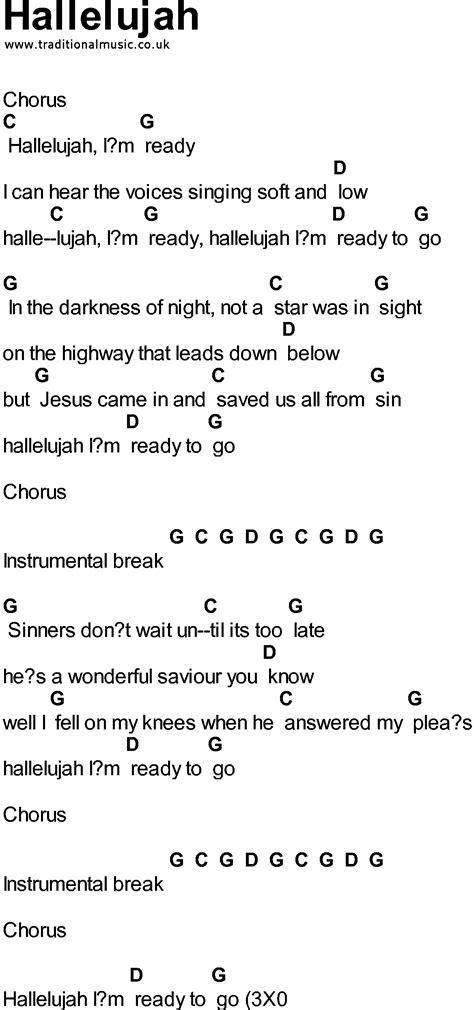 Guitar Chords Hallelujah