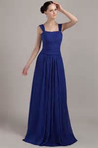 square neckline bridesmaid dress with nany blue skirt