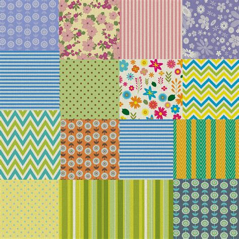 Patchwork Pattern Fabric - patchwork quilt fabric background free stock photo