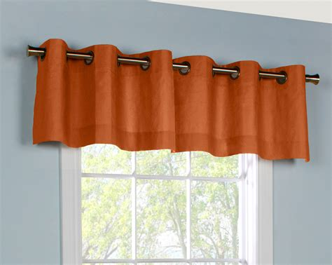 Grommet Curtains With Valance grommet valances solid colored patterned