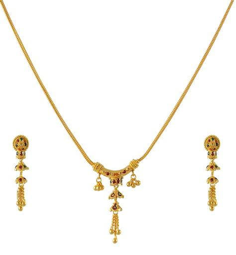 Fashion Indian Gold Jewellery Necklace Designs For Jewelry