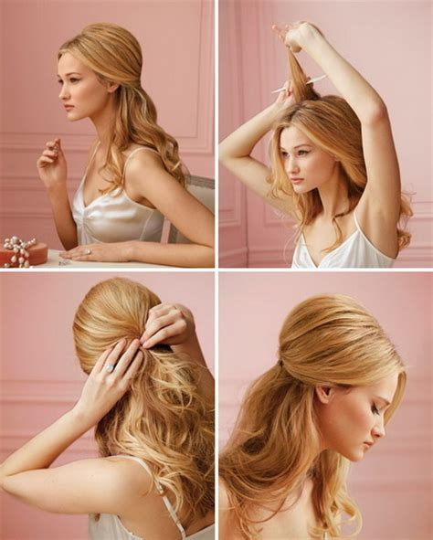 hairstyles easy home prom hairstyles to do at home