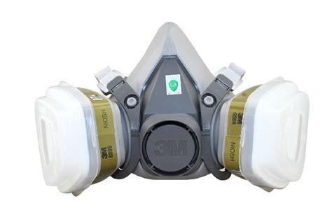 Masker Pestisida 3m masker gas respirator 6200 gray jakartanotebook