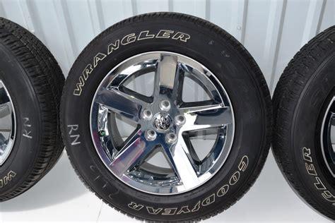 stock tires on dodge ram 1500 dodge ram 1500 20 inch chrome clad oem factory rims tire
