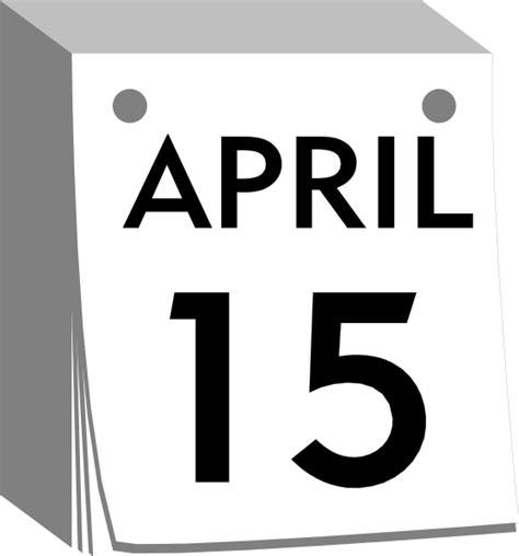 blank daily flip calendar calendar with daily sheets clip art at clker com vector
