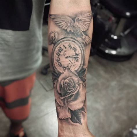 Tattoo Meanings Rose | rose tattoo designs inspiration mens craze