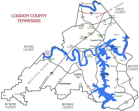 Loudon County Tn Court Records Loudon County Tn Maps