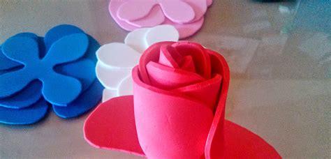 c 243 mo hacer flores de goma eva paso a paso bloghogar com como hacer una flor nueva en goma eva c 243 mo decorar con