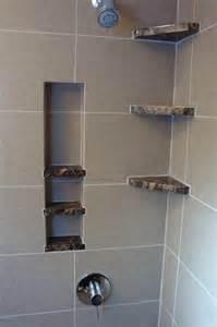 shower storage built in bathroom detroit by steward