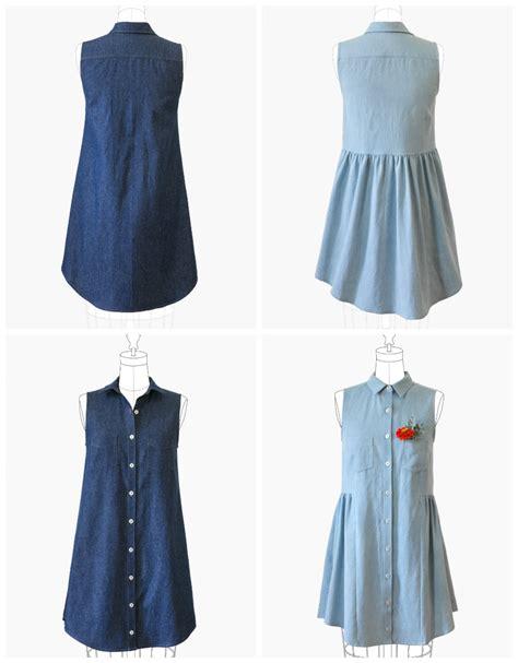 pattern clothes grainline studio 13001 alder shirtdress