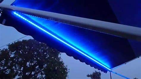 rv awning led light strip rv lighting led strip waterproof multicolor awning