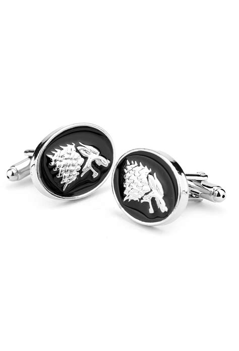 what game of thrones house am i game of thrones house stark cufflinks vamers store