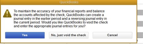 Void Check Report In Quickbooks by How To Void A Check Written In A Prior Period Hawkins Ash Cpas