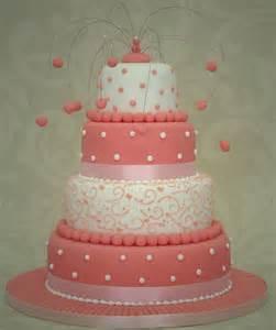 pinker kuchen pink wedding cakes bitsy
