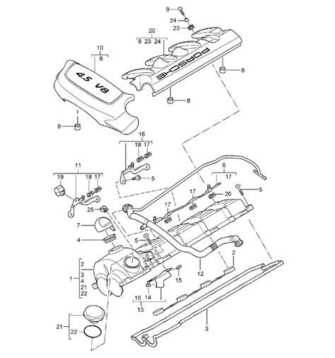 manual repair free 2008 porsche cayenne spare parts catalogs porsche cayenne engine diagram sh3 me