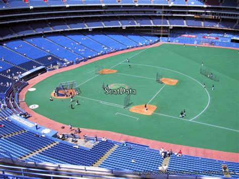 section 127 rogers centre section 516 seat view at rogers centre rateyourseats com