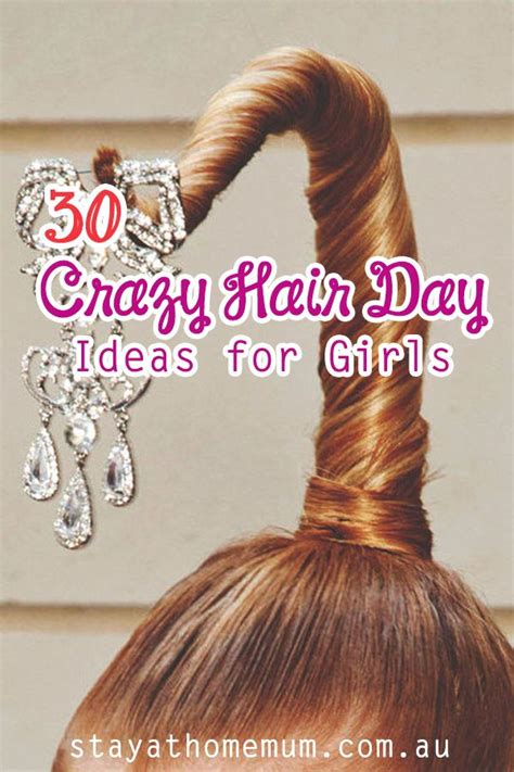 crazy hairstyles at home 44 best crazy hair day images on pinterest crazy hair