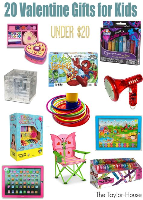 valentine gift ideas for kids the taylor house