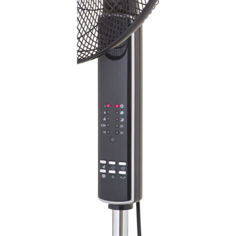 pedestal fan with remote 16 quot inch black oscillating pedestal fan with remote