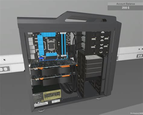 build your own house simulator build your own pc in pc building simulator pc aficionado