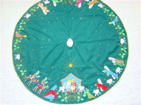 94 best images about nativity tree skirts on pinterest