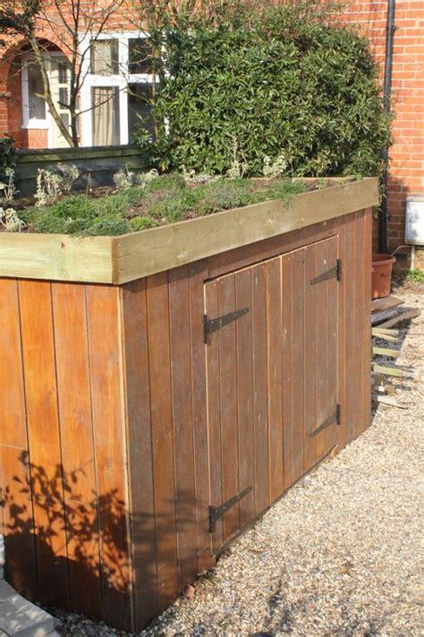 living roof bike shed bike shed front garden planning storage solutions