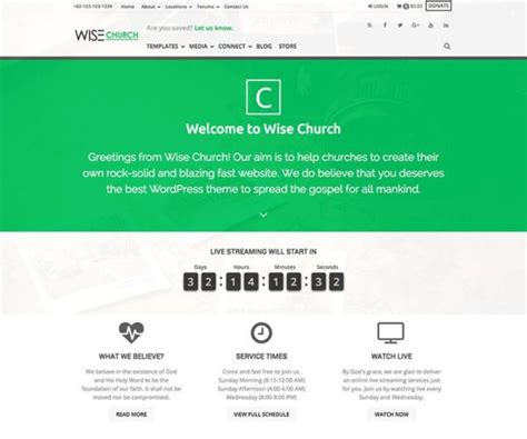themeforest money back saved church wordpress theme wpexplorer