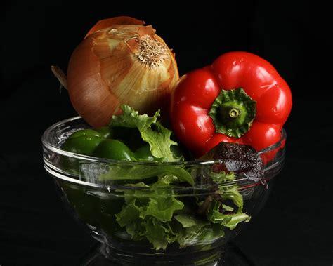 Mangkuk Pemotong Sayur Salad Cutter Bowl Gambar Menanam Buah Bunga Mangkuk Makanan Salad Menghasilkan Sayur Mayur Masih Hidup