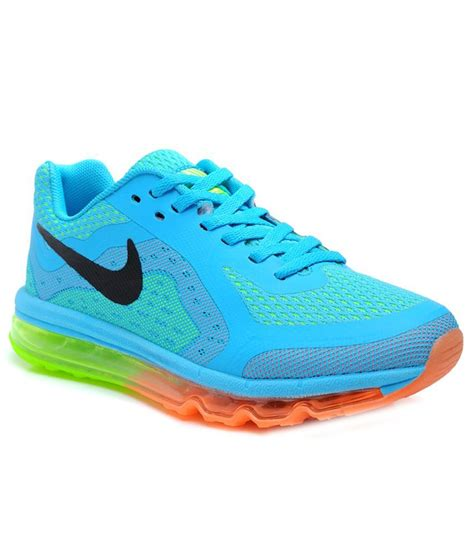 Nike Airmax Merah nike airmax 2014 moon blue running shoes price in india buy nike airmax 2014 moon blue running