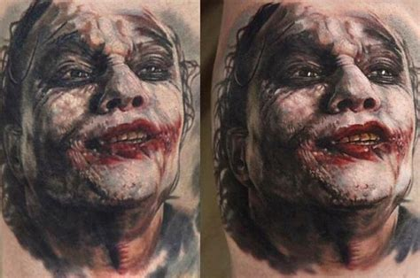 heath ledger joker potter seunghyun jo perfect tattoo
