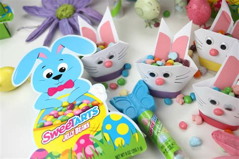 Easter Origami Bunny - the best easter basket origami bunny craft catch my