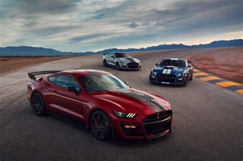 ford production 2020 the 2020 ford mustang shelby gt500 is the most powerful