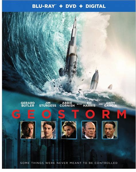 geostorm feature film vids geostorm blows onto dvd and blu ray this january