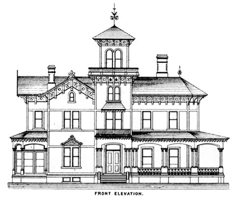 Historic Victorian House Plans by The Italianate Style Royalty And The Grand Tour A