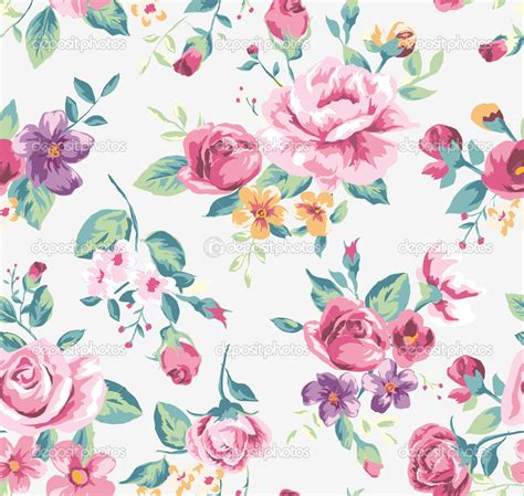 floral pattern repeat vector 7 best images of vintage flower vector pattern clip art