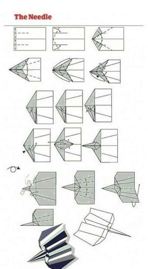How To Make The Best Paper Airplanes In The World - paper airplane designs barnorama