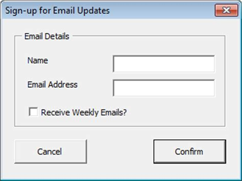 excel userform layout user forms controls in vba chandoo org learn