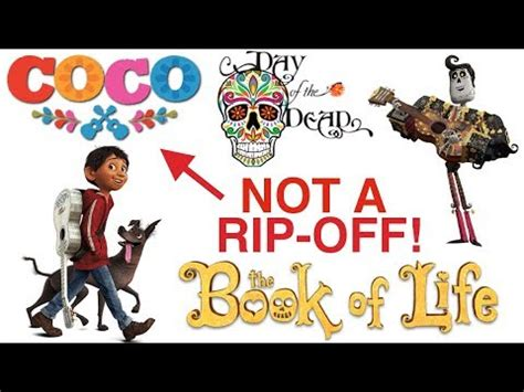 coco the book of life why does everyone think coco is ripping off the book of