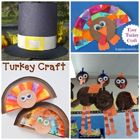 Paper Plate Turkey Craft For - thanksgiving paper plate crafts for crafty morning