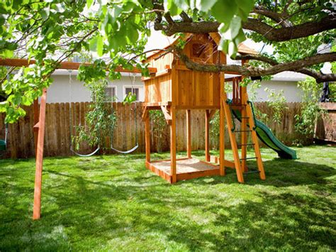 Small Backyard Playground Ideas Outdoor Playground Ideas Outdoortheme